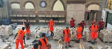 Im Ausbildungszentrum Bau in Geradstetten werden Flüchtlinge fit für eine Ausbildung am Bau gemacht.