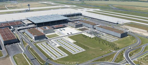 Quelle: Flughafen Berlin Brandenburg GmbH, Urheber: Günter Wicker