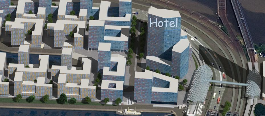 200 Mio Euro Kongresshotel An Den Hamburger Elbbrucken