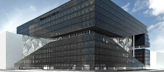 Quelle: Office for Metropolitan Architecture/Axel Springer