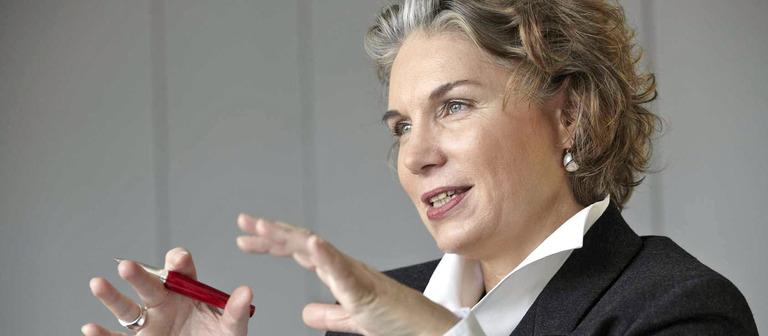 Sabine Märten hat selbst schon Mitarbeiter entlassen.