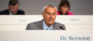 Wulf Bernotat auf der diesjährigen Hauptversammlung der Vonovia im Mai 2017.