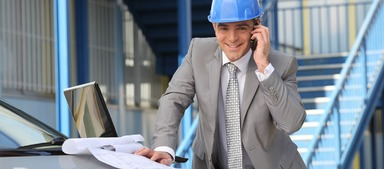 Im Baubereich wird es immer schwerer, die Nachfrage nach Ingenieuren zu decken.