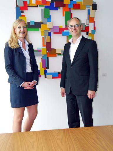 Harren der Dinge, die da kommen mögen: Triuva-Personalerin Katja Kubitza und CEO Wenzel Hoberg.