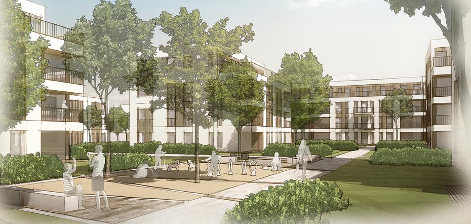Frank gruppe errichtet 118 wohneinheiten in langen - Mow architekten ...