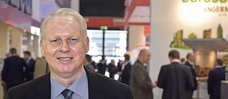 Personalberater Olaf Kenneweg stellte der IZ die Ergebnisse seiner diesjährigen HR-Umfrage vergangene Woche auf der Immobilienmesse Expo Real in München vor.