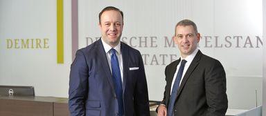 Nach dem Abgang des bisherigen Vorstandssprechers Markus Drews (links) wird CFO Ralf Kind Demire zunächst allein auf Kurs bringen müssen.