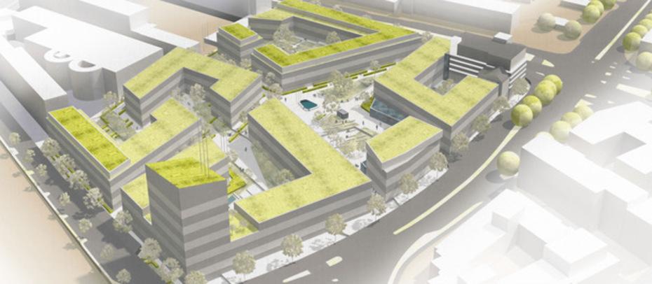 Architekten In Essen essen altes waz areal wird gemischt genutztes öko quartier