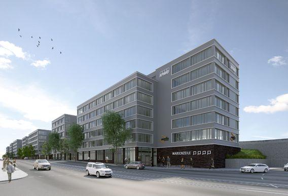 Urheber: KSP Jürgen Engel Architekten/3dkad, Quelle: Aurelis Real Estate