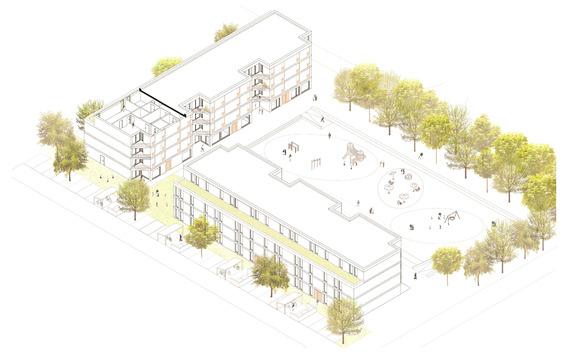 Quelle: IBA Hamburg, Urheber: Limbrock Tubbesing Architects