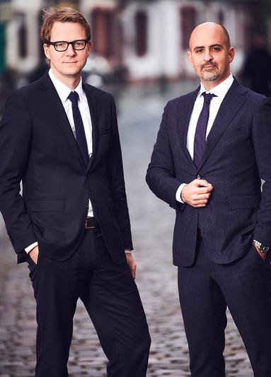 Das neue Gesellschafter-Tandem von iMallinvest: Klaus Mennickheim (links) und Steffen Hofmann.