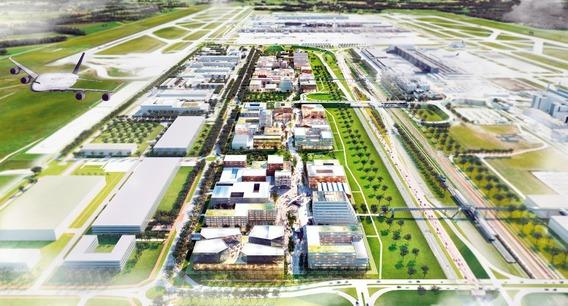 Quelle: Flughafen München, Urheber: KCAP Architects & Planners