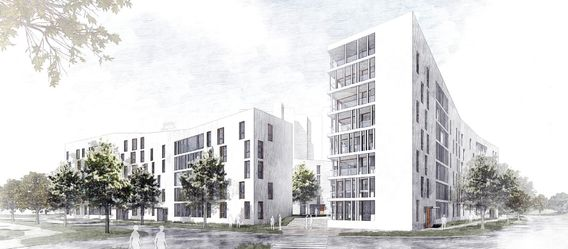 Quelle: Bau- und Heimstättenverein Stuttgart eG, Urheber: EMT Architektenpartnerschaft