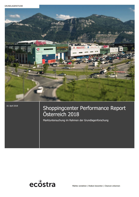 Shoppingcenter Performance Report Österreich 2018 (IZ) - Immobilien ...