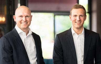 Daniel Hartmann (links) und Christian Hansmann.