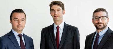 Von links nach rechts: Andreas Köhler, Sebastian Eichhorn und Patrick Schönleiter.
