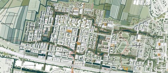 Quelle: IBA Hamburg, Urheber: ADEPT ApS mit Karres en Brands Landschapsarchitecten b.v. & Transsolar Energietechnik GmbH