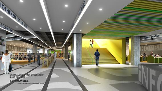 Quelle: Stadt Düsseldorf, Urheber: Schrammel Architekten Stadtplaner