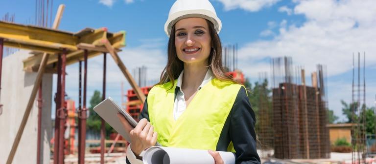 Auch Frauen haben die Projektentwicklung als Wunschberuf im Blick. Jede Zweite der befragten Studentinnen strebt in diese Sparte.