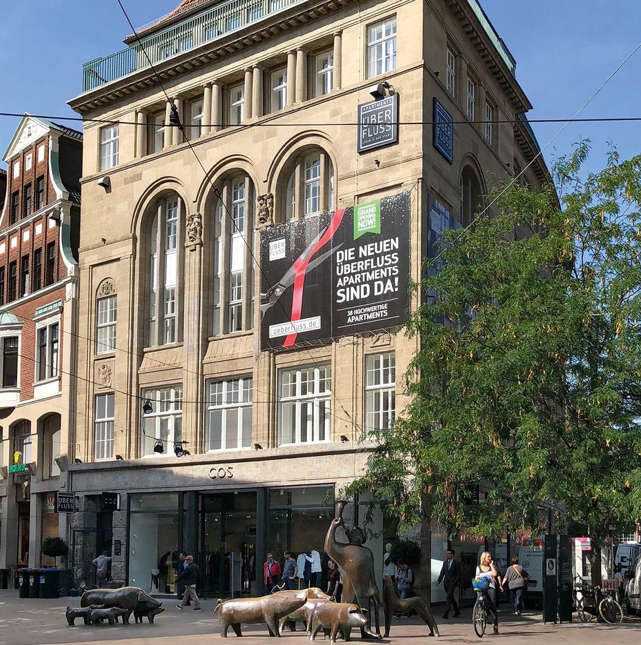 ÜberFluss Apartments eröffnen in Bremen