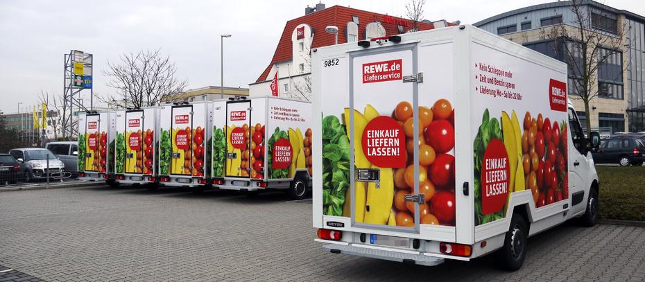Rewe eröffnet automatisiertes E-Commerce-Verteilzentrum