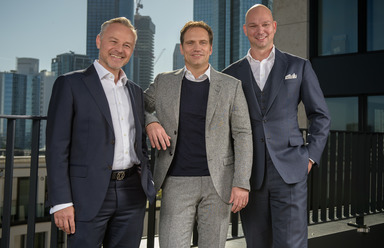 Gestatten: Thomas Dänzel, Sascha Wilhelm, Stefan Zimmermann (v.l.n.r.).