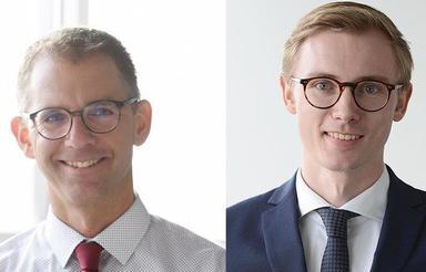 Thomas Ricci (links) und Felix Alexander.