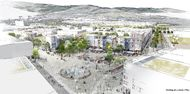 Quelle: Stadt Freiburg, Urheber: K9 Architekten, Latz + Partner, StetePlanung, endura kommunal - Stahl + Weiß
