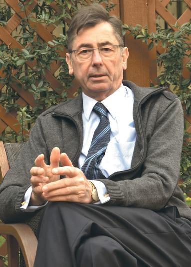 Ende 2017 traf die Immobilien Zeitung Georg Funke in seinem Domizil im Ausland.