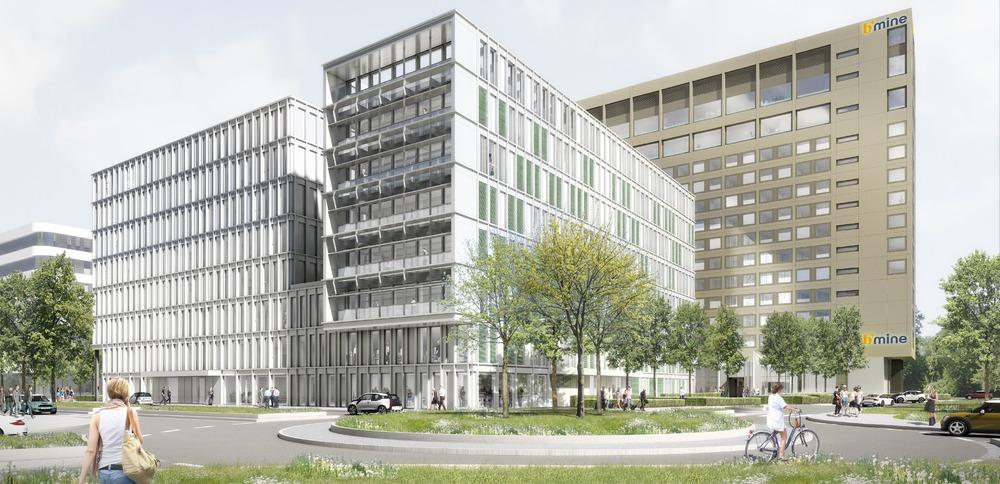 Quelle: Gateway Gardens Office 16.2.1. GmbH & Co. KG, Urheber: Neikes Architekturen, Dieter Neikes