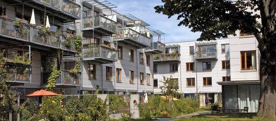 Quelle: Wohnbaugenossenschaft wagnis eG, Urheber: Hermann Wittekopf