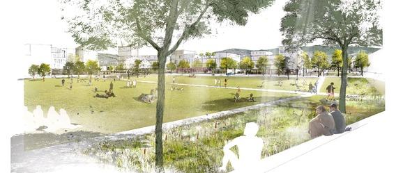 Quelle: Stadt Freiburg; Urheber: K9 Architekten, Latz + Partner, StetePlanung, endura kommunal - Stahl + Weiß