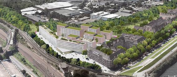 Quelle: Google Earth, Image Landsat/Copernicus, Urheber: Ponnie/LIN Architekten Urbanisten