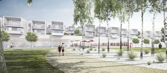Quelle: Wohnbaugruppe Augsburg, Urheber: Titus Bernhard Architekten