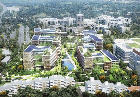 Quelle: Pickard Chilton, Glück Landschaftsarchitektur, ARP Stuttgart