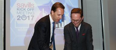 Marcus Mornhart (rechts) mit seinem alten Chef Marcus Lemli.