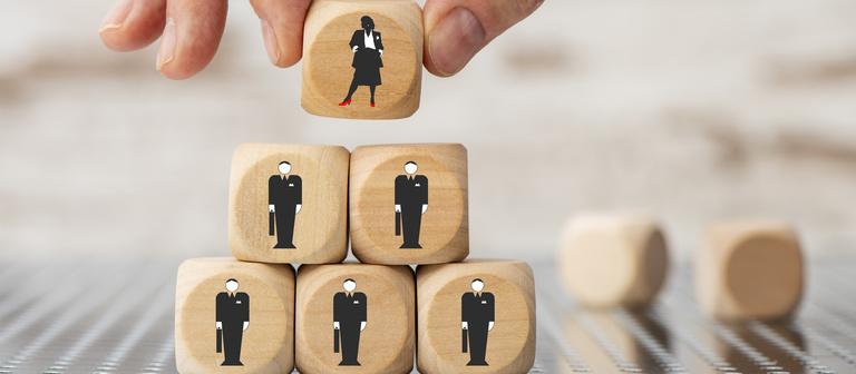 Frauen an der Spitze: ein seltenes Bild, nicht nur in Immobilienunternehmen.