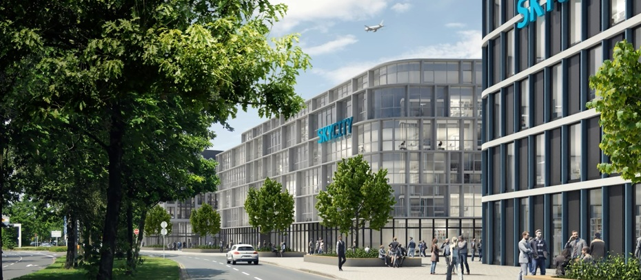 Baum entwickelt Sky City am Flughafen Hannover