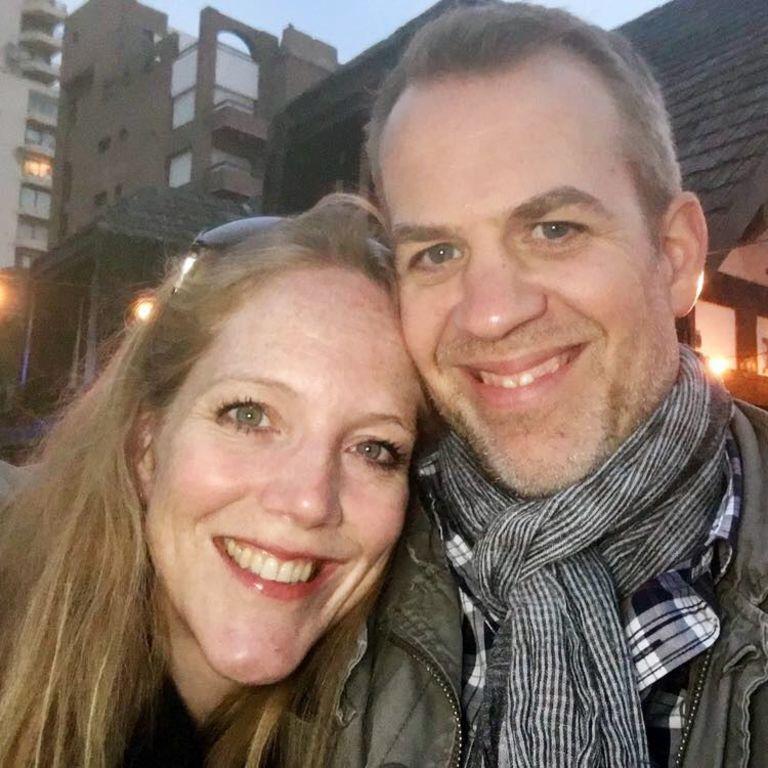 Christoph Hartmann ist mit seiner Frau Bianca fast neun Jahre lang verheiratet.