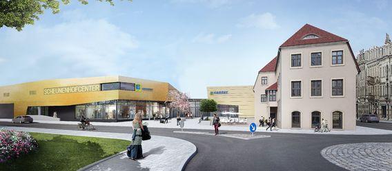Quelle: Edeka Nordbayern-Sachsen-Thüringen, Visualisierung: archlab, Seidel + Architekten