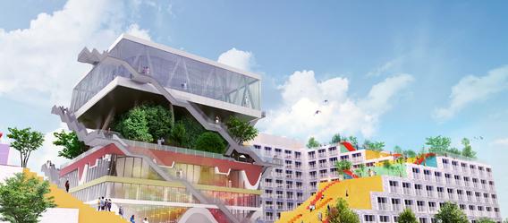 Quelle: iLive Expo Campus GmbH, Urheber: MVRDV