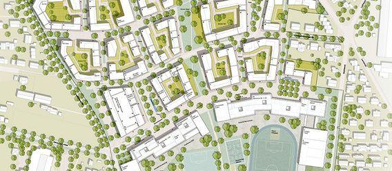 Urheber: Ammann Albers Stadtwerke, Zürich/BEM Landschaftsarchitekten/Stadtplaner, München