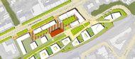 Quelle: WBG Urbanes Wohnen St. Jobst GmbH, Urheber: Morpho-Logic Architekten BDA Stadtplaner Partnerschaftsgesellschaft mbB