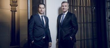 Holger Lahm (links) und Ferdinand Rock, die beiden Managing Partner von Tristone.