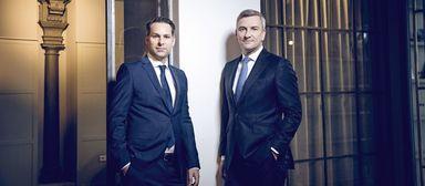 Holger Lahm (links) und Ferdinand Rock führen Tristone.