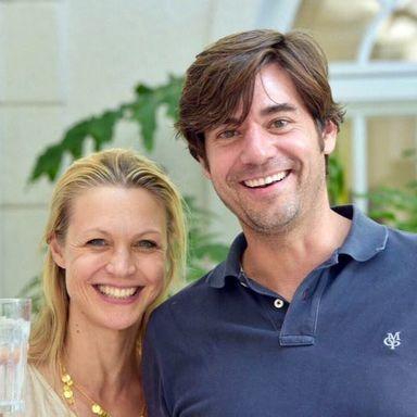 Robert Patzschke mit seiner Frau.