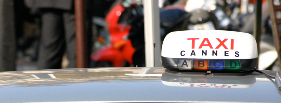 Taxi in Cannes