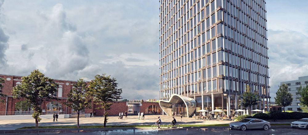 Quelle (Foto): Eike Becker_Architekten, Urheber (Rendering): Mir. (www.mir.no)