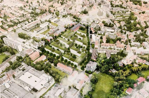 Quelle: BayernHeim, Urheber: Architekturbüro H2M Architekten + Stadtplaner