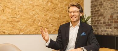 Bernd Hütter hat ab April die Finanzen von Cube Real Estate im Blick.